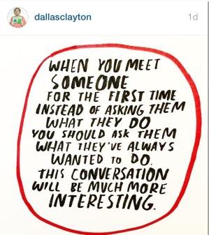 if you don't follow @dallasclayton on insta, you should. He's fabulous.